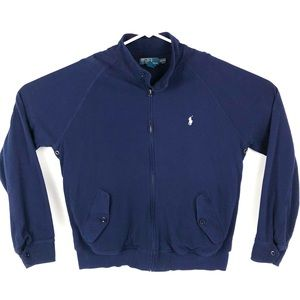 Polo Ralph Lauren XL Zip Cotton Lined Track Jacket